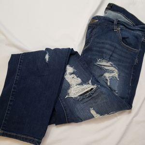 Torrid Premium 18R Distressed Boyfriend jeans